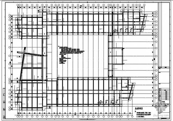 山东某七层学院砖砌体混合结构设计图