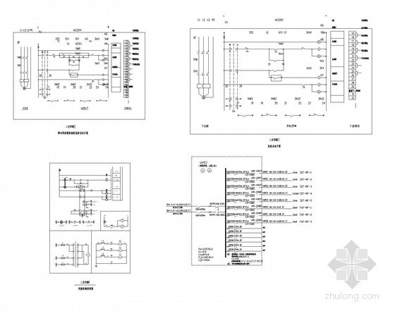 u型生产线布局图资料下载-[海南]知名厂家厂房生产线项目电气全套施工图