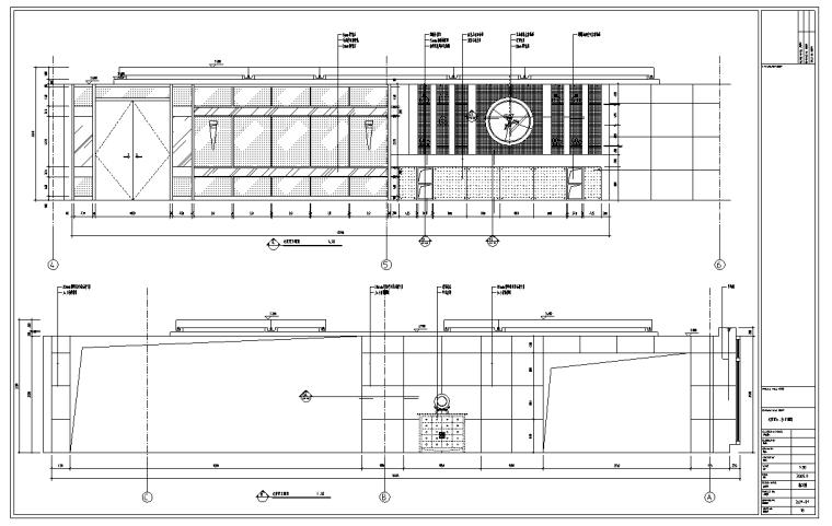 某580平米中餐厅室内装修施工图及效果图(32张)_3