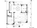 [广东]碧桂园现代中式别墅样板房设计施工图(含软装方案+物料表