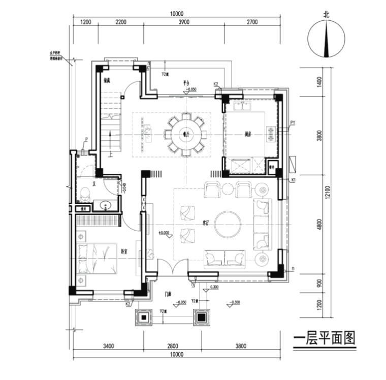 图纸深度:施工图 项目位置:广东 设计风格:中式风格 图纸格式:cad2000