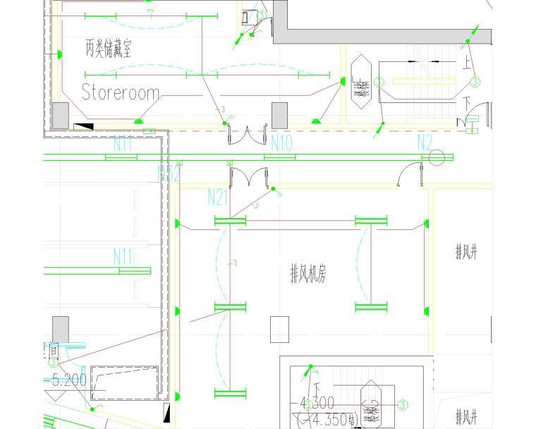 [上海]国际设计中心强电施工图