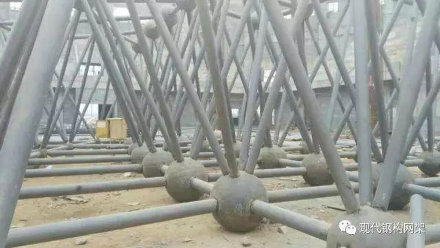普通焊接球网架的施工方案(收藏备用)