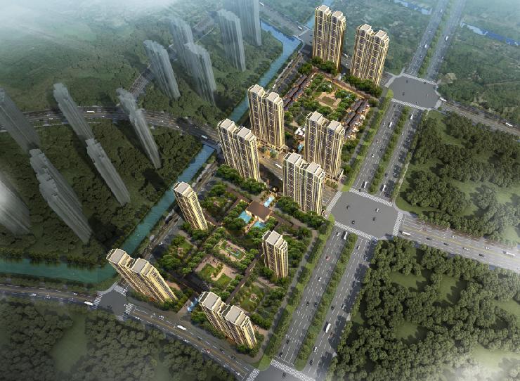 [江苏]古典风格超高层高级居住建筑规划设计方案文本(PDF)