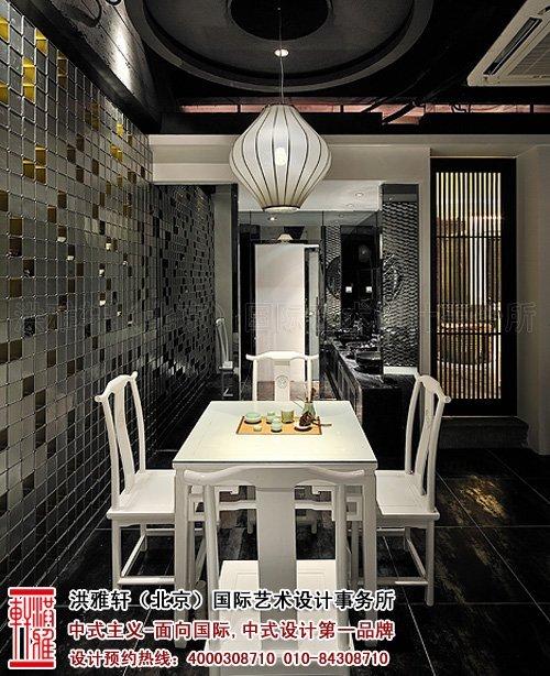 新中式茶楼装修设计,体现沁静优雅的人生乐趣_7