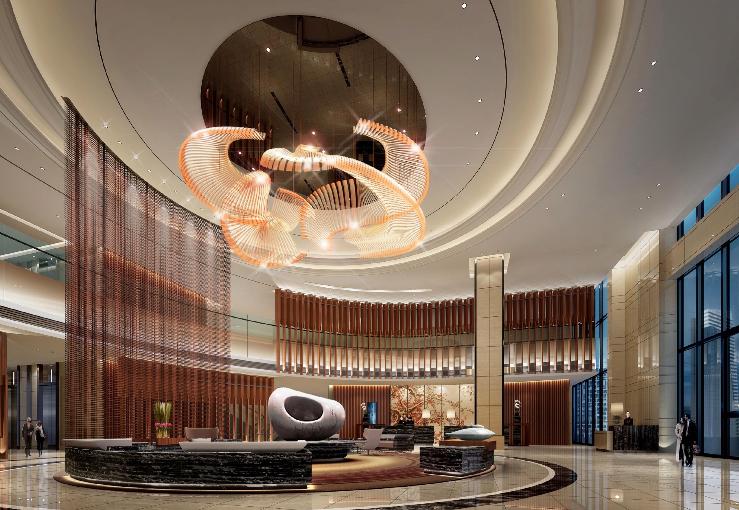 [J&A杰恩设计]广州科学城逸林希尔顿酒店丨方案+效果图丨83P