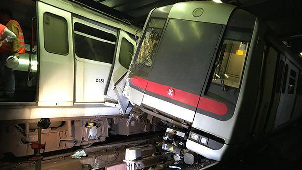 港铁:撞车系信号系统软件问题 泰雷兹供技术阿尔斯通负责项目管理
