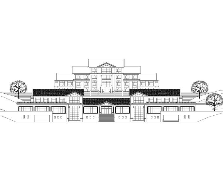 娱乐休闲会所及各种广场施工图(74套图纸)