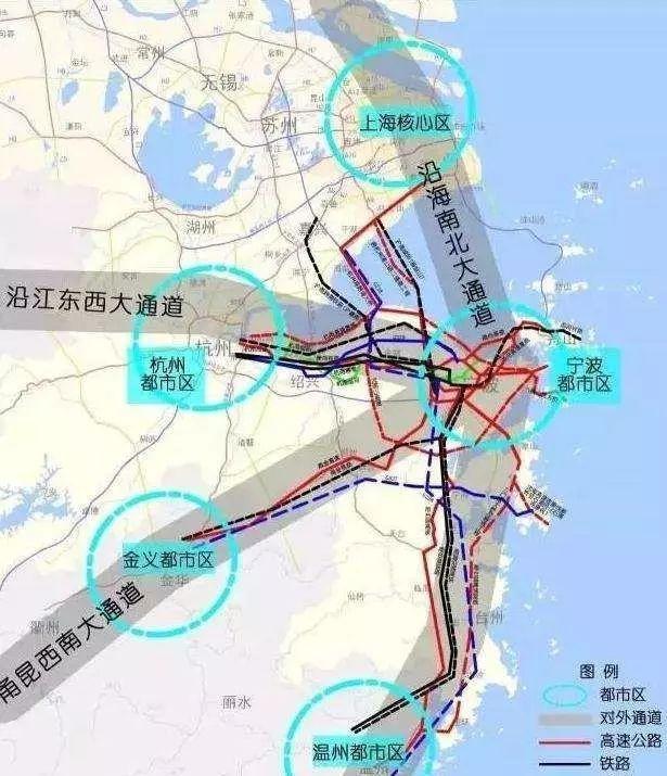 上海大都市圈轨道交通详解:城轨互连!通勤高铁、铁路密布_6