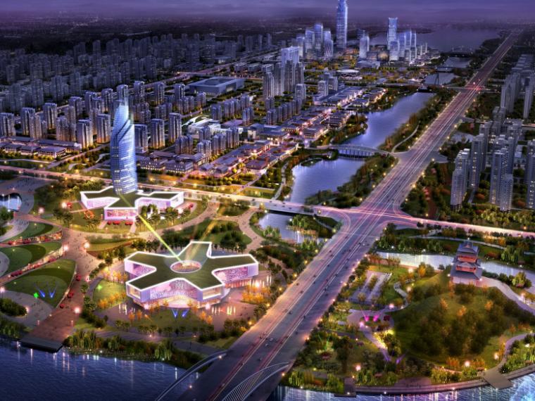 [河南]濮阳市商务中心及周边地块城市景观规划设计