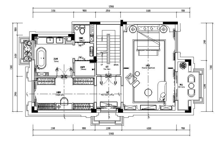 大艺术家·繁秋|佛山绿岛湖项目示范区别墅样设计施工图(附效果图)