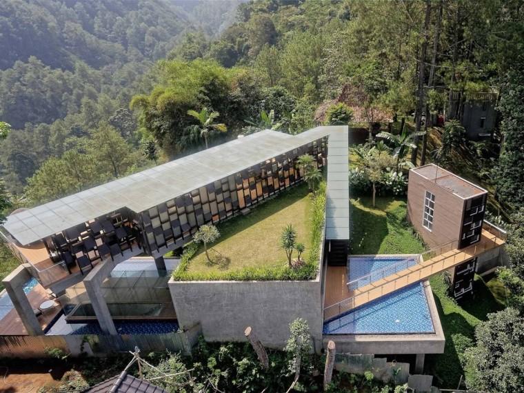 印度尼西亚浮空别墅