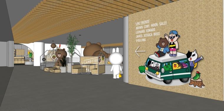 现代梦幻儿童体验区及商业配套设计施工图(附效果图)-Incafe 10 - Copy