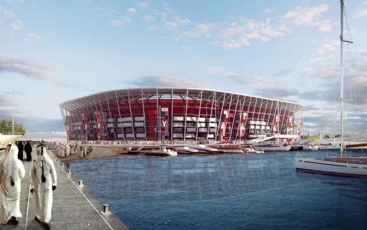 集装箱建的体育场