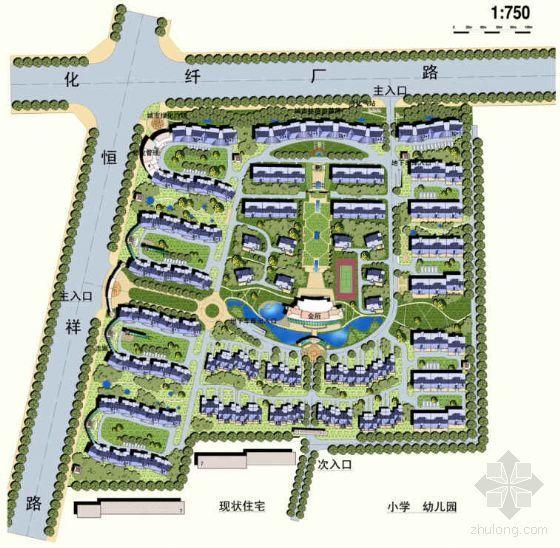 [保定]城市花园小区详细规划方案设计