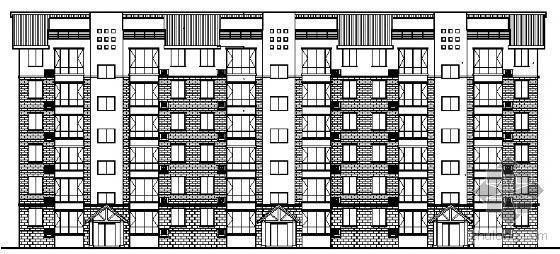 四川省三台慧川某小区住宅楼群建筑结构水电施工图-2