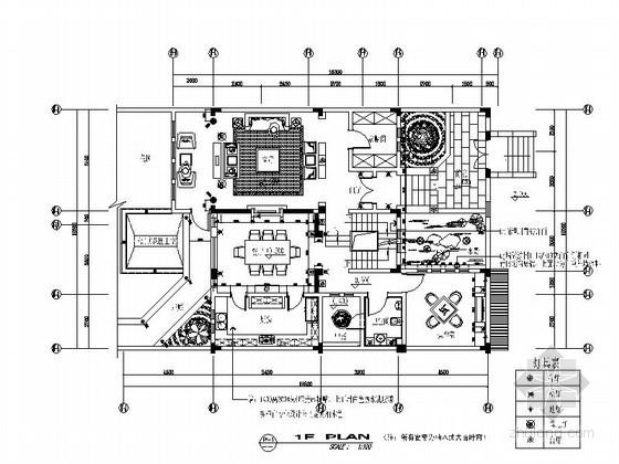 [无锡]某区49号三层别墅室内装修图