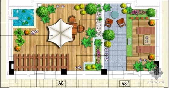 住宅露台景观设计方案