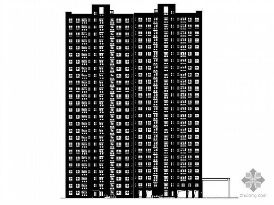 [合肥]某居住小区二十六层住宅楼(7号楼)建筑施工图