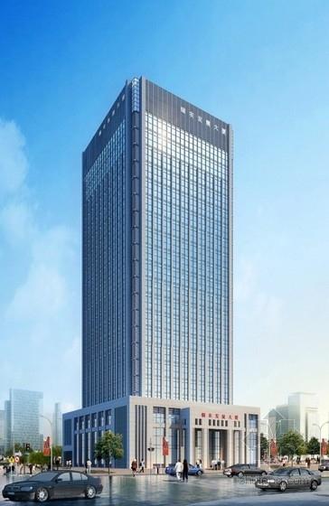 [山东]21层企业办公楼建筑方案文本