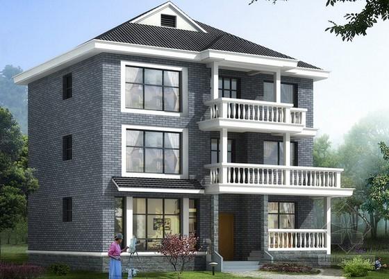 2层别墅土建工程量清单计价实例(含图纸及算量)