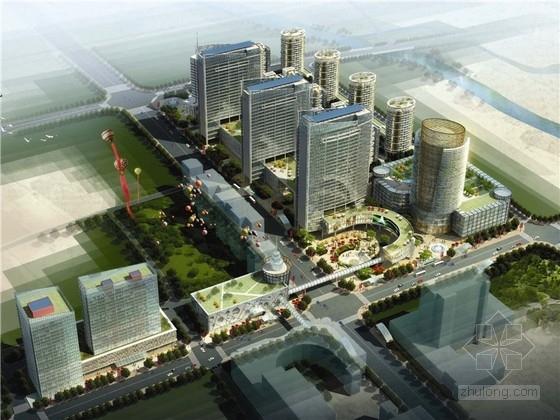 [浙江]现代风格地铁站片区规划及建筑设计方案文本