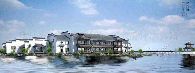 中式四合院装修-徽派建筑中式设计效果图,精雕细琢臻致完美第1张图片