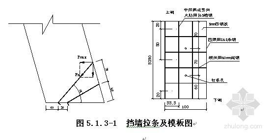 [江西]铁路客运专线边坡支护重力式挡土墙施工方案