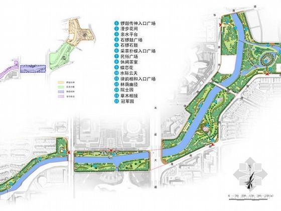 [福建]龙岩区滨河景观设计方案