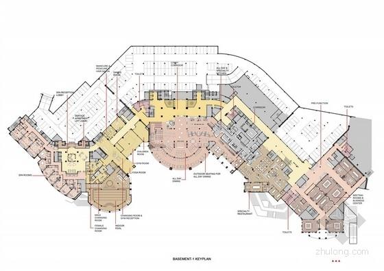 [浙江]五星级度假酒店室内设计方案图