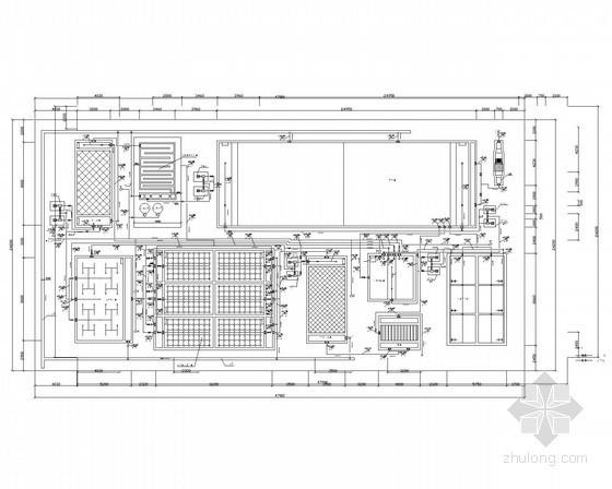 污水处理厂构筑物及设备大样图