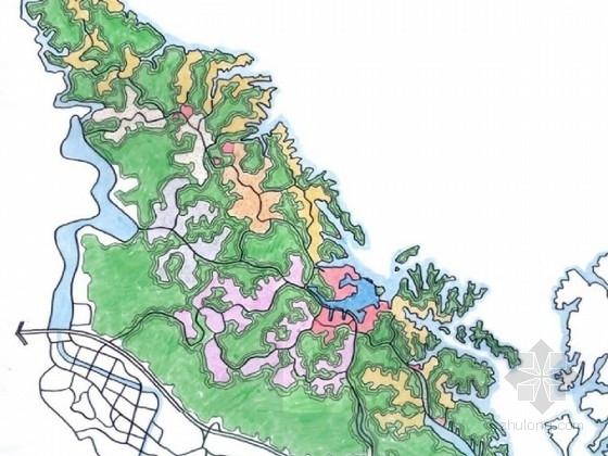 [湖北]著名生态文化旅游区整体规划设计方案
