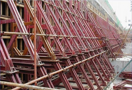 单侧墙体模板支架施工工艺(附图)