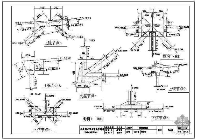 [学士]某30m焊接钢屋架课程设计