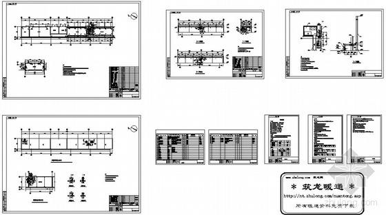 某厂房配电室空调设计图纸