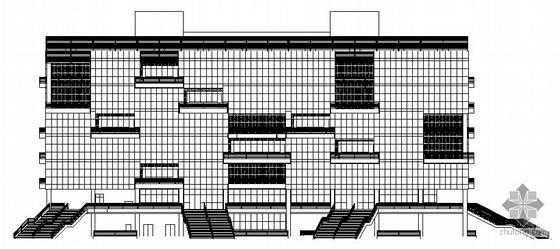 [广东]某大学图书馆建筑设计方案