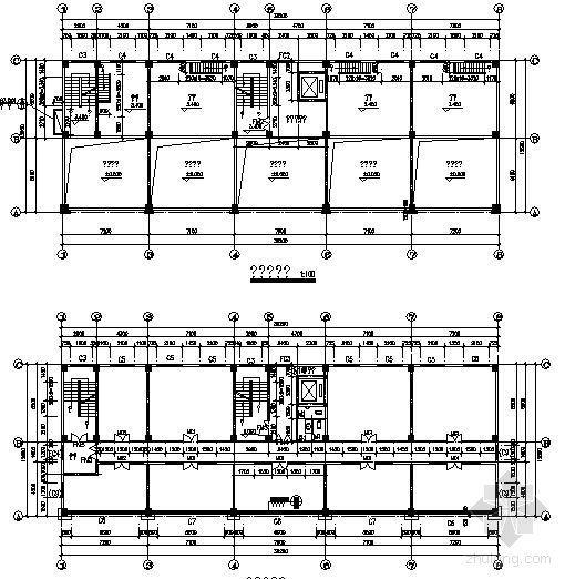 某十三层写字楼建筑施工图-3