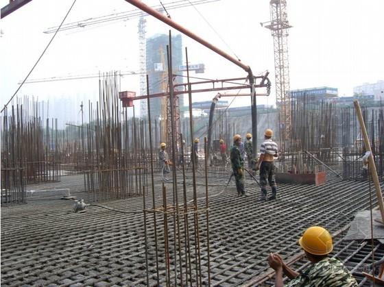 [四川]广电中心筏基底板大体积混凝土施工方案(中建)