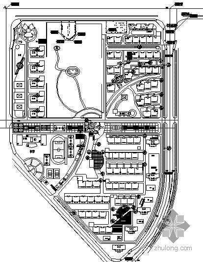 [北京]小区B区景观设计施工图