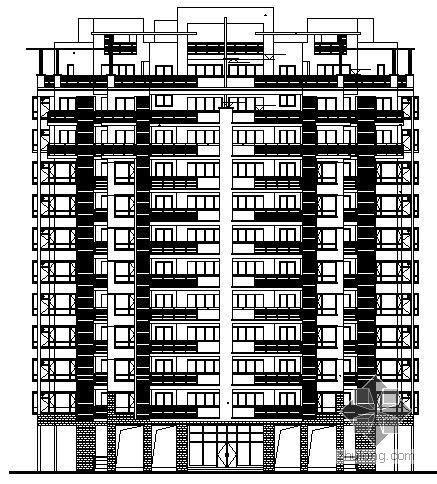 [南宁]某十一层住宅楼建筑结构施工图