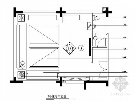 小型包房室内装修图