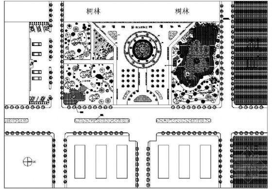 某滨湖游园平面设计图