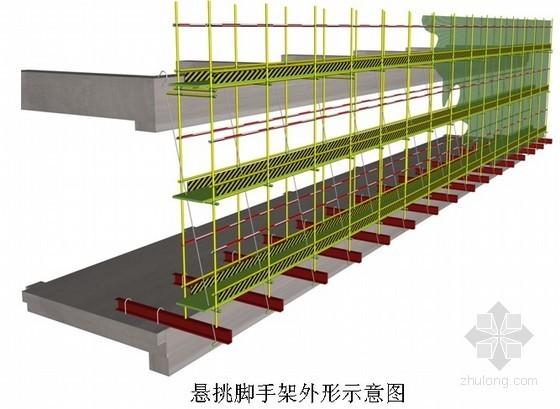 框剪结构住宅脚手架施工方案(平面布置图)