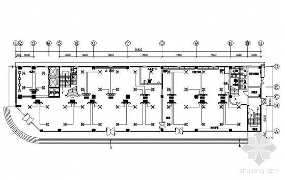 某十二层酒店中央空调图