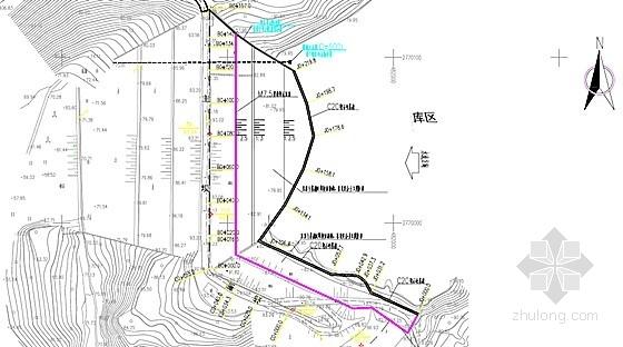 [福建]小(二)型水库除险加固工程施工图(大坝 溢洪道)
