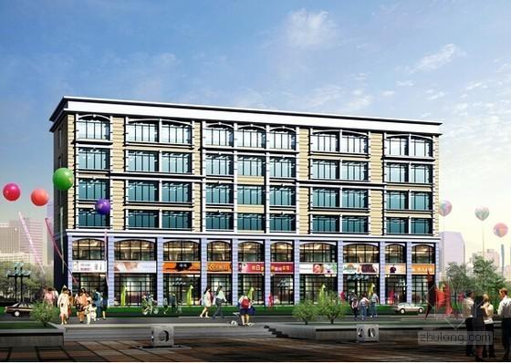 [安徽]商住楼建筑工程量清单报价及工程量计算(含图纸 神机妙算软件实例)