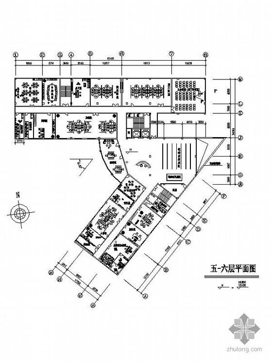 [南京]某办公楼装修图纸
