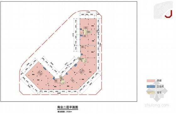 [深圳]新加坡花园式高尚住区设计方案文本-新加坡花园式高尚住区各层平面图