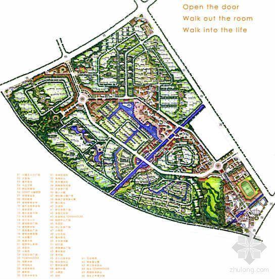 [分享]居住区规划设计文本手绘资料下载平面设计专业男生多吗图片
