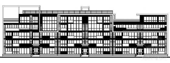 东部花园洋房5栋住宅楼建筑施工图